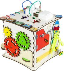 Кубик развивающий Бизикубик GoodPlay 25х25х25 с подсветкой (K009) от Stylus