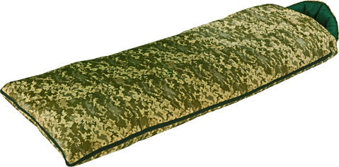 Акция на Спальный мешок одеяло Champion Tourist Камуфляжный (TI-14-KH) от Rozetka