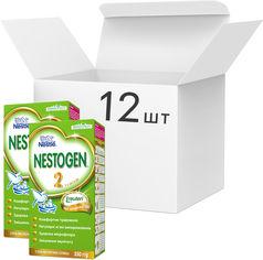 Упаковка детской смеси Nestogen Nestle 2 с 6 месяцев 350 г х 12 шт (7613031375042) от Rozetka