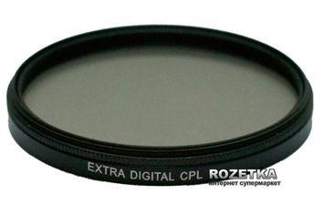 Светофильтр ExtraDigital CPL 77 мм (EDFCPL7700) от Rozetka