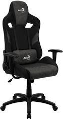 Кресло для геймеров Aerocool COUNT Iron Black (COUNT_Iron_Black) от Rozetka