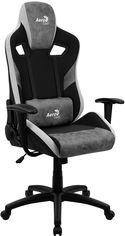 Кресло для геймеров Aerocool COUNT Stone Grey (COUNT_Stone_Grey) от Rozetka