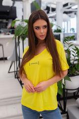 Футболка Remise Store V5073 44 Желтая (2000000421308) от Rozetka