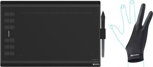 Графический планшет Huion H1060P с перчаткой от Rozetka