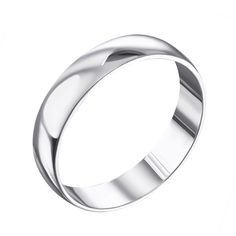 Акция на Обручальное серебряное кольцо 000133405 000133405 19 размера от Zlato