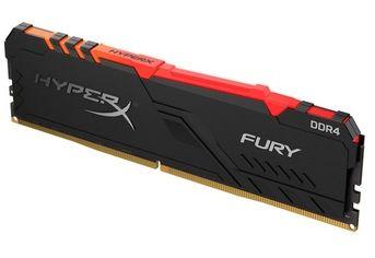 Память для ПК HyperX DDR4 3466 8GB Fury RGB Black  (HX434C16FB3A/8) от MOYO