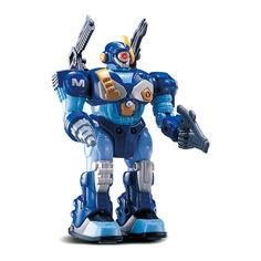 Робот-воин Hap-p-kid синий со световым и звуковым эффектами 17,5 см (3576T-3579T-3) от Будинок іграшок