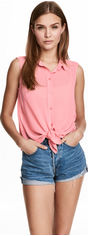Блузка H&M XAZ181079KUJN 38 Розовая (DD2000002691426) от Rozetka