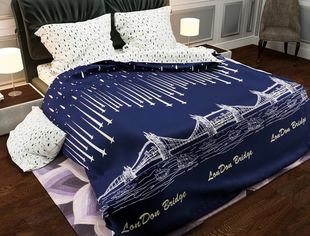 Комплект постельного белья MirSon Бязь 17-0035 Cristian 143x210 (2200001396463) от Rozetka