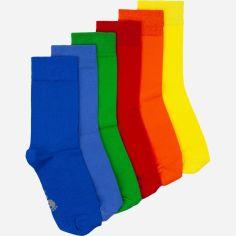 Набор носков Lapas 007 0836 6 пар 35-37 Разноцветный (ROZ6206119188) от Rozetka