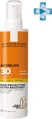 Солнцезащитный ультралегкий спрей La Roche-Posay Anthelios для кожи лица и тела с очень высокой степенью защиты SPF 30 200 мл (3337875696821) от Rozetka