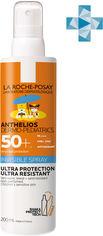 Солнцезащитный ультралегкий спрей La Roche-Posay Anthelios Dermo-Pediatrics для чувствительной кожи детей с очень высокой степенью защиты SPF 50+ 200 мл (3337875698696) от Rozetka