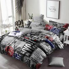 Комплект постельного белья MirSon Бязь 17-0034 Celeste 175x210 (2200001396777) от Rozetka