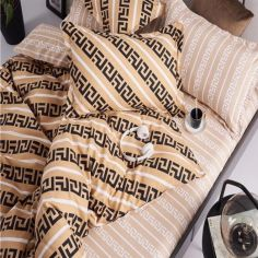 Акция на Комплект постельного белья MirSon Бязь Premium 17-0045 Felix 200x220 (2200001397200) от Rozetka