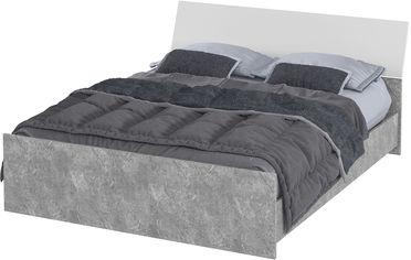Кровать Aqua Rodos Hennessy 1600 без ламелей Серая (HENBED-1600) от Rozetka