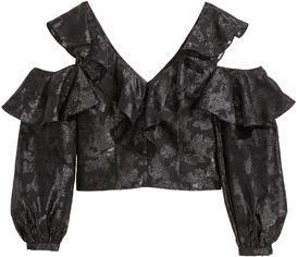Блузка H&M XAZ182293FDCD 34 Черная (DD2000003834013) от Rozetka