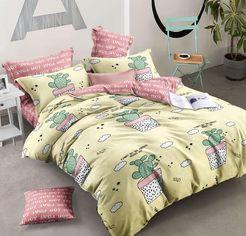 Акция на Комплект постельного белья MirSon Бязь Premium 17-0041 Clementina 110x140 (2200001396203) от Rozetka