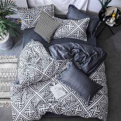 Акция на Комплект постельного белья MirSon Бязь Premium 17-0026 Achiles 110x140 (2200001396050) от Rozetka