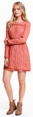Платье H&M Divided XAZ052349LTML 38 Темно-розовое (DD2000000920627) от Rozetka