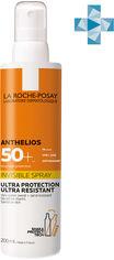 Солнцезащитный ультралегкий спрей La Roche-Posay Anthelios для кожи лица и тела с очень высокой степенью защиты SPF 50+ 200 мл (3337875696838) от Rozetka