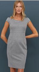 Платье H&M XAZ175915DXLF S Белое с черным (DD2000003688197) от Rozetka