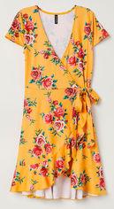 Платье H&M Divided XAZ137705HSUZ 38 Оранжевое с разноцветным (DD2000003947980) от Rozetka