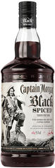 Ромовый напиток Captain Morgan Spiced Black 1 л 40% (5000281034980) от Rozetka