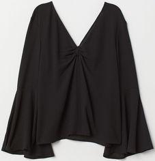 Блузка H&M Divided XAZ169421YNXW 40 Черная (DD2000003573561) от Rozetka