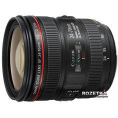 Canon EF 24-70mm f/4.0L IS USM Официальная гарантия от Rozetka