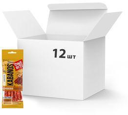 Упаковка кабаносов Дмитрук One Bite Cheese из мяса птицы с добавлением сыра 50 г х 12 шт (4820179000696) от Rozetka