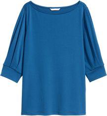 Блузка H&M XAZ088181TNBW S Светло-синяя (DD2000002487647) от Rozetka