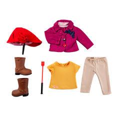 Набор Our Generation Deluxe Одежда для верховой езды (BD30121Z) от Будинок іграшок