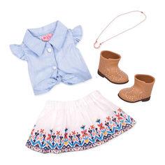 Набор для кукол Our Generation Одежда для ранчо (BD30359Z) от Будинок іграшок