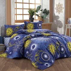 Акция на Комплект постельного белья Sun Moon Lighthouse Двуспальный евро комплект от Podushka