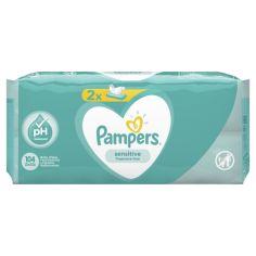 Детские влажные салфетки Pampers Sensitive, 2x52 шт. от Pampik