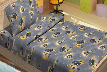Акция на Детское постельное белье Lotus Tobi синее Детский комплект от Podushka