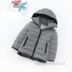 Куртка демисезонная детская IMCCE kids 6987-802 черно-белая 98 от Podushka