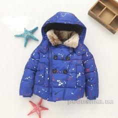 Куртка утепленная для мальчика IMCCE kids 6987-3 синяя 98 от Podushka