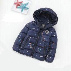 Куртка демисезонная для мальчика IMCCE kids 876 темно-синяя 116 от Podushka