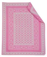 Одеяло детское WOT Птицы светло-розовое АДХ 008/1072 100х140 см от Podushka