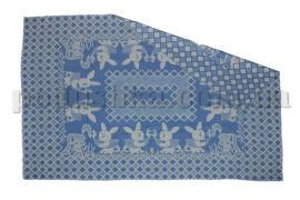 Одеяло детское WOT Зайцы голубое 100х140 см от Podushka