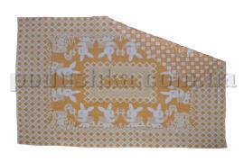 Одеяло детское WOT Зайцы желтое 100х140 см от Podushka