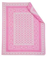 Одеяло детское WOT Птицы розовое 100х140 см от Podushka