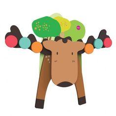 Настенная игрушка Oribel VERITIPLAY Лось Гуфи (OR805-90001) от MOYO