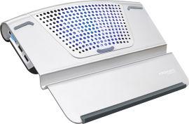 Охлаждающая подставка для ноутбука Promate AirBase-6 Silver от Rozetka