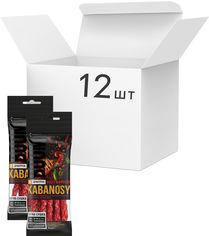 Упаковка кабаносов Дмитрук Hot&Spicy свиных со вкусом острого перца чили 50 г х 12 шт (4820179000917) от Rozetka