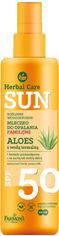 Акция на Водостойкое молочко для загара Farmona Herbal Care Sun SPF 50 200 мл (5900117972830) от Rozetka
