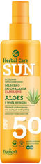 Водостойкое молочко для загара Farmona Herbal Care Sun SPF 50 200 мл (5900117972830) от Rozetka
