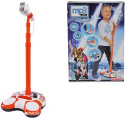 Музыкальный набор Simba Toys Микрофон на стойке с разъемом для МР3-плеера и световыми эффектами 102 см (6837816) от Rozetka