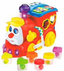 Акция на Игрушка Hola Toys Паровозик (6944167155668) от Rozetka